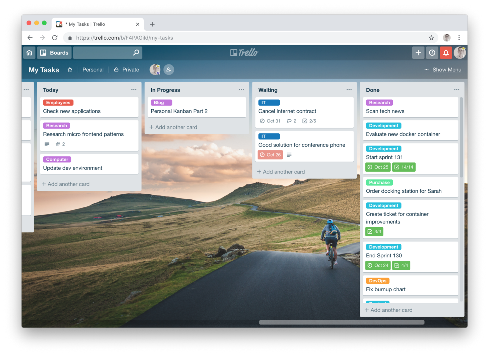 Personal Kanban Part 2 Personal Kanban With Trello By