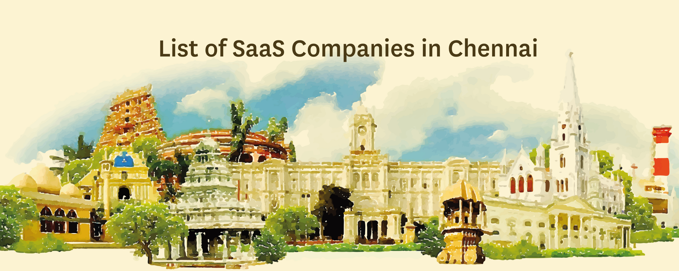 List of SaaS Companies in Chennai - By