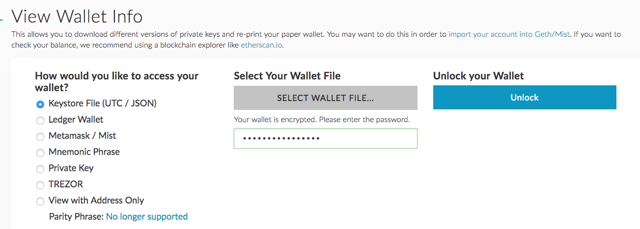 Securely Generating and Storing an Ethereum Wallet - By