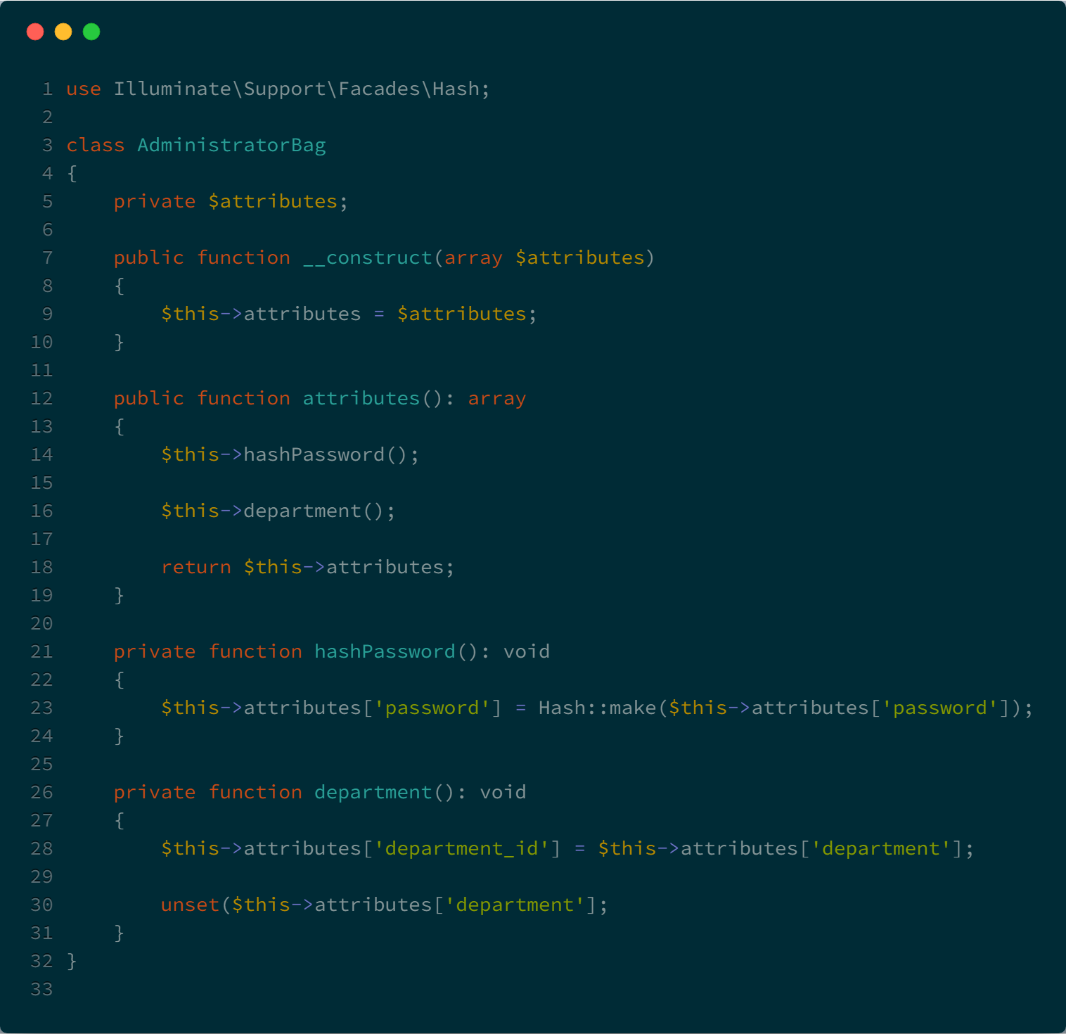 Mapping Form Request to Eloquent - By
