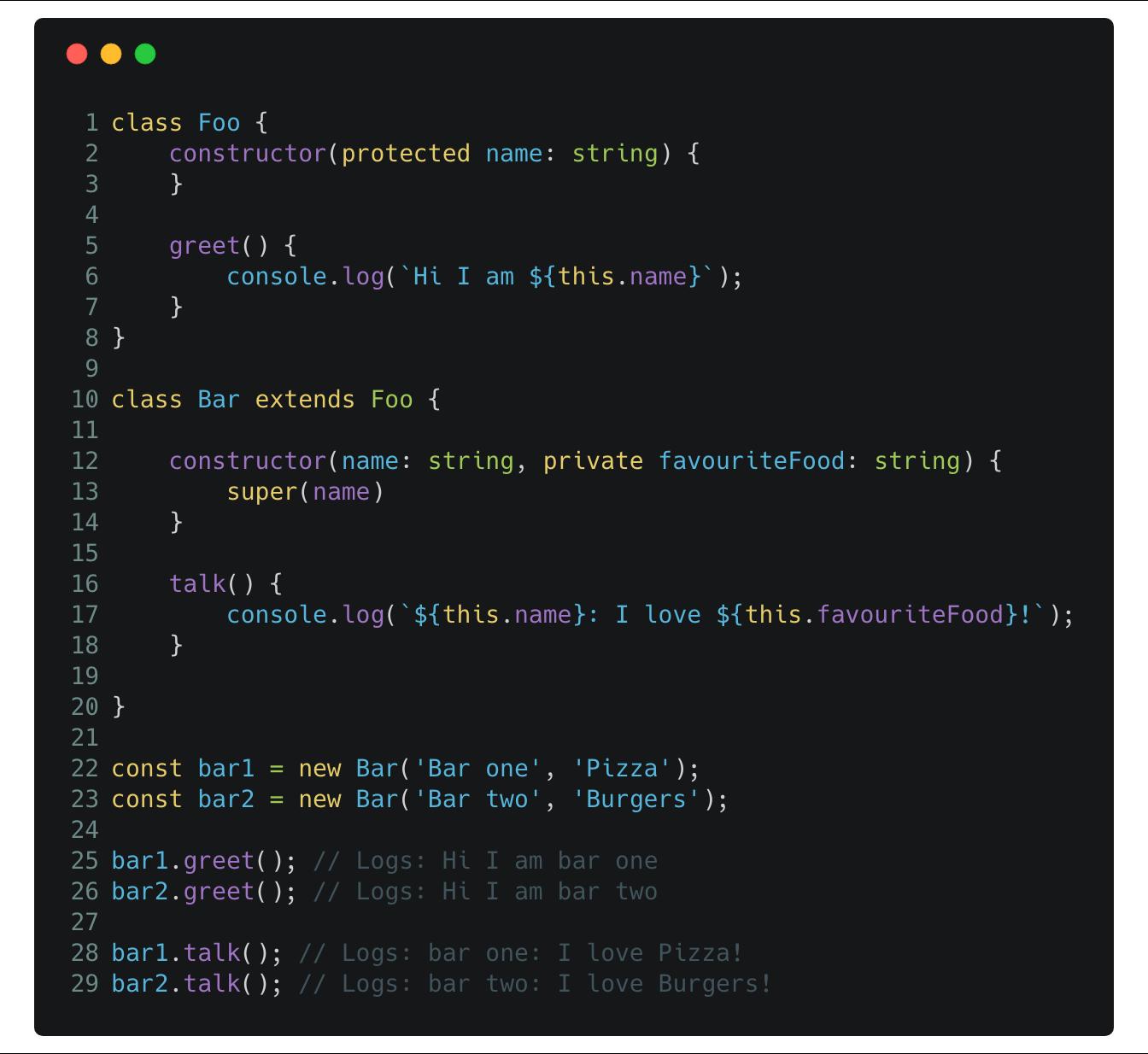 Typescript inheritance deep dive 🐋 - By Kevin Kreuzer