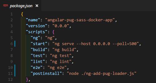 Using Docker, Docker Compose, Angular-CLI 6+, Sass, and Pug (Jade) - By