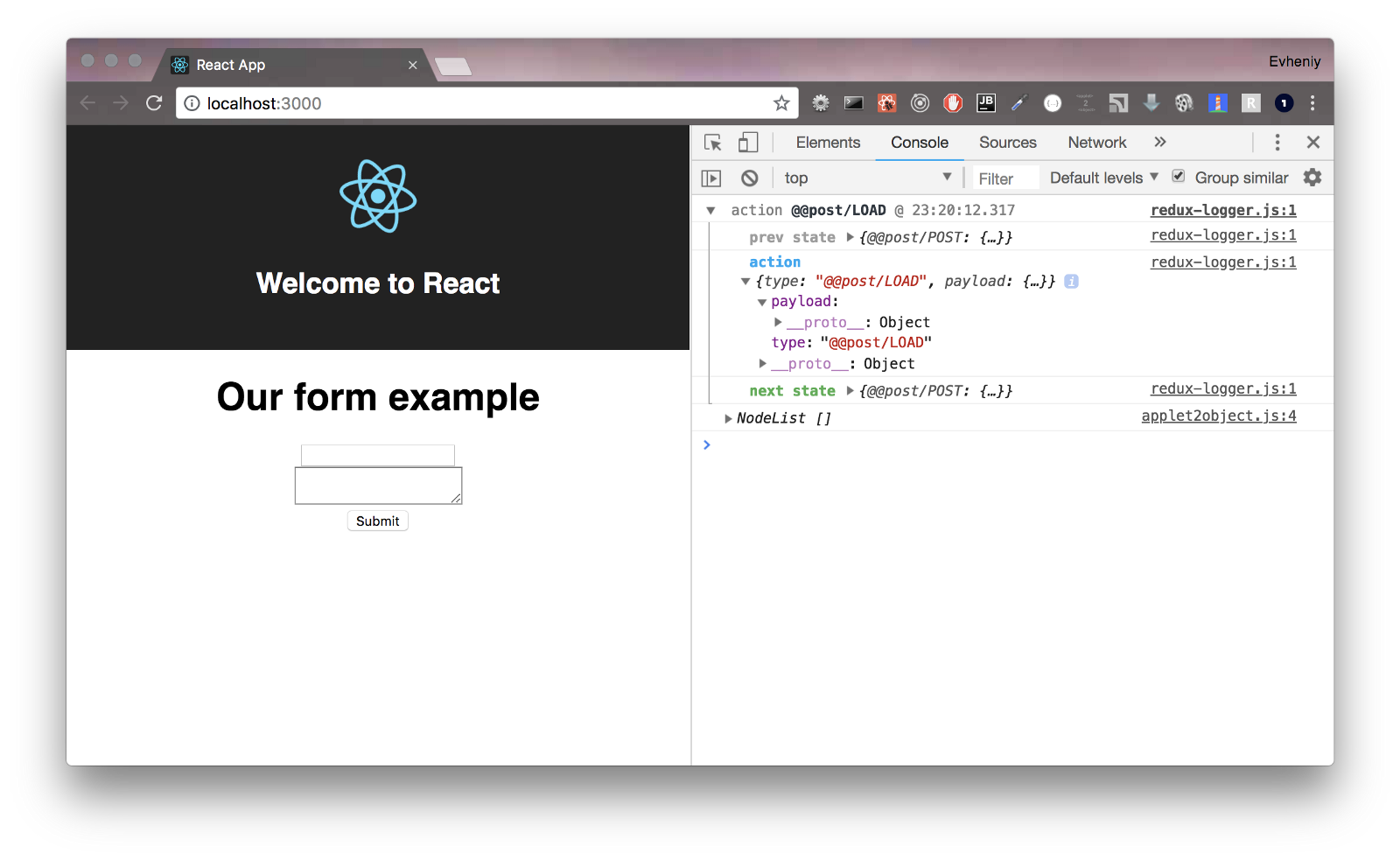 React — redux for lazy developers  Part 3 - By
