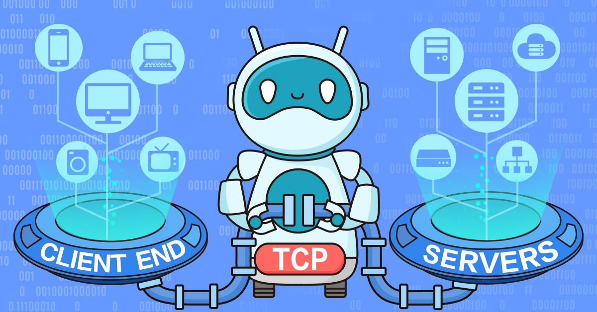 TCP Three-Way Handshake - By