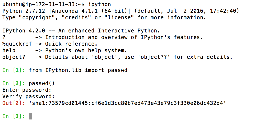 AWS EC2: Start a Jupyter (IPython) Notebook Server - By