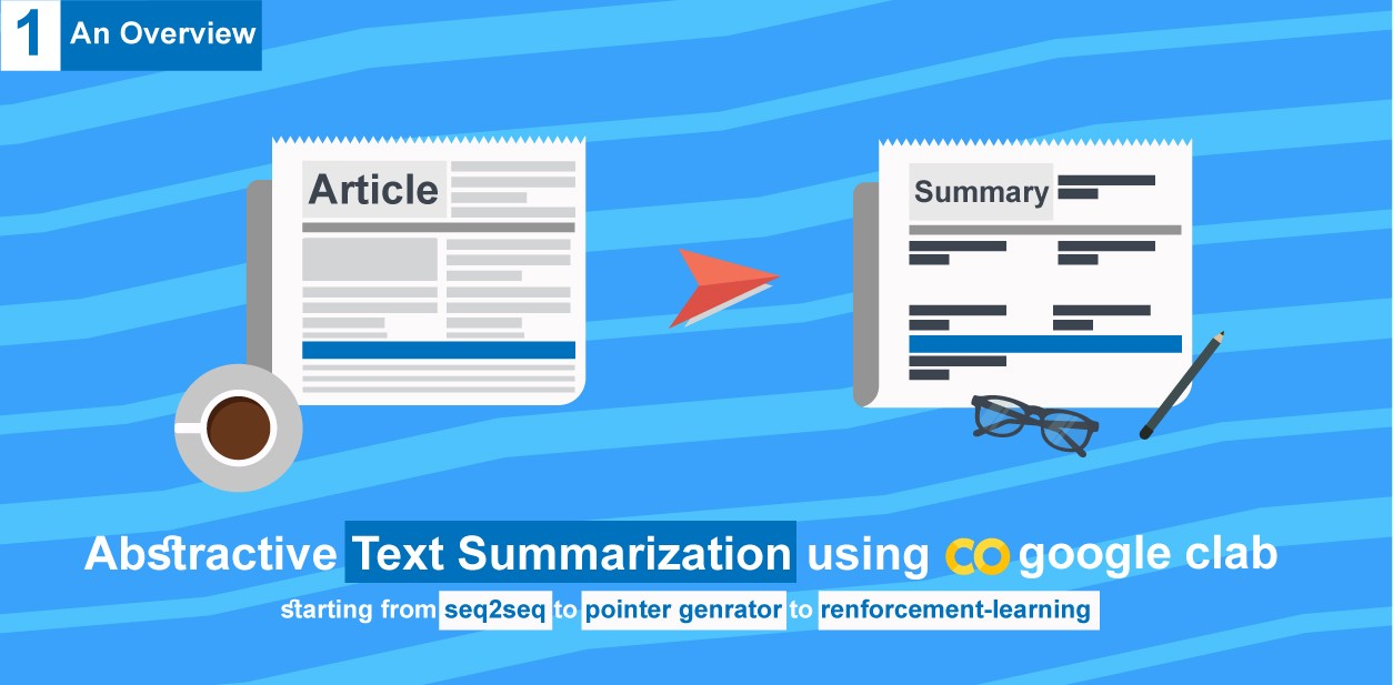 Text summarizer using deep learning made easy - By amr zaki