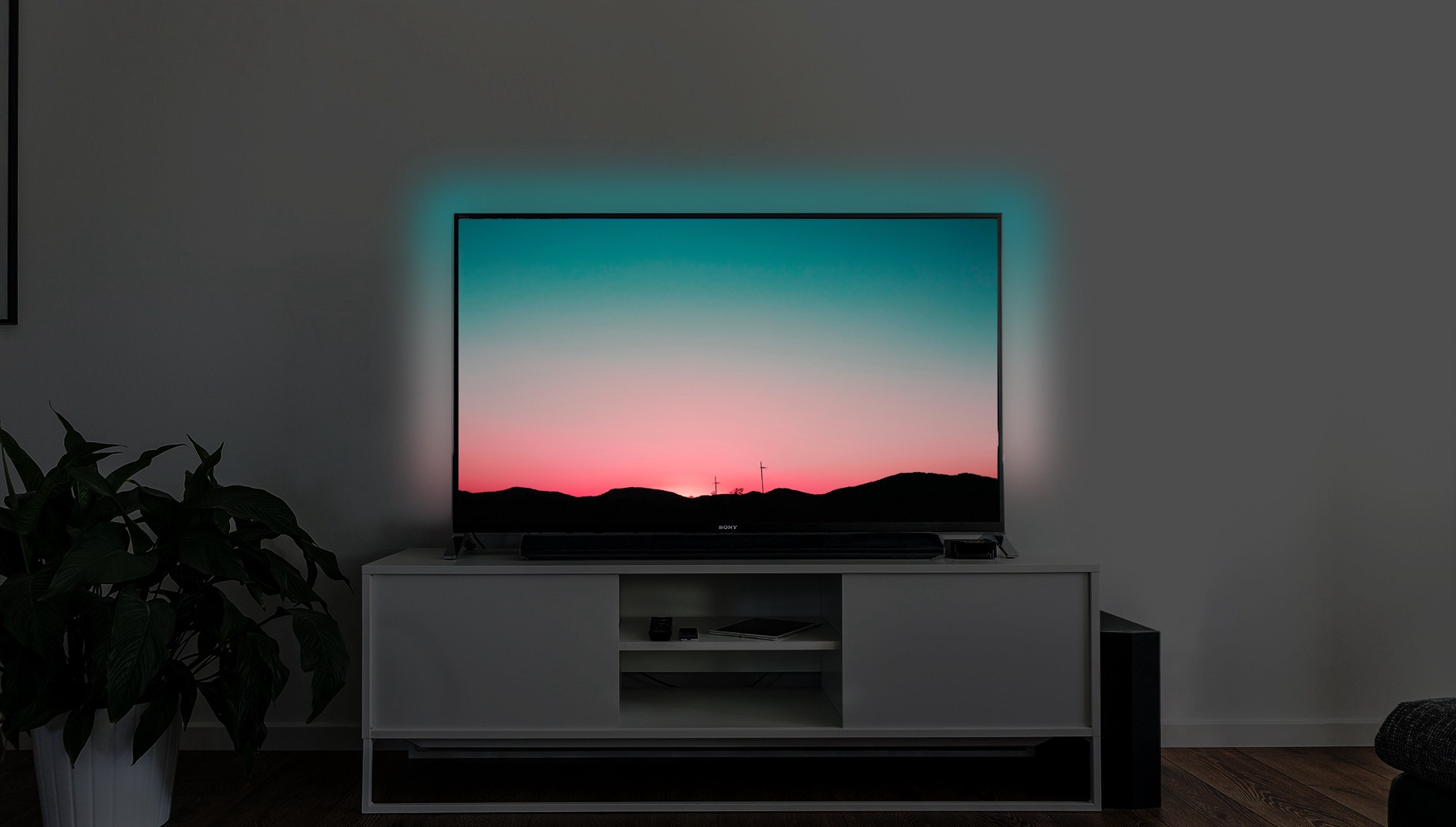 Philips Hue Tv Light Strip.The Best Tv Experience Diy Philips Ambilight By