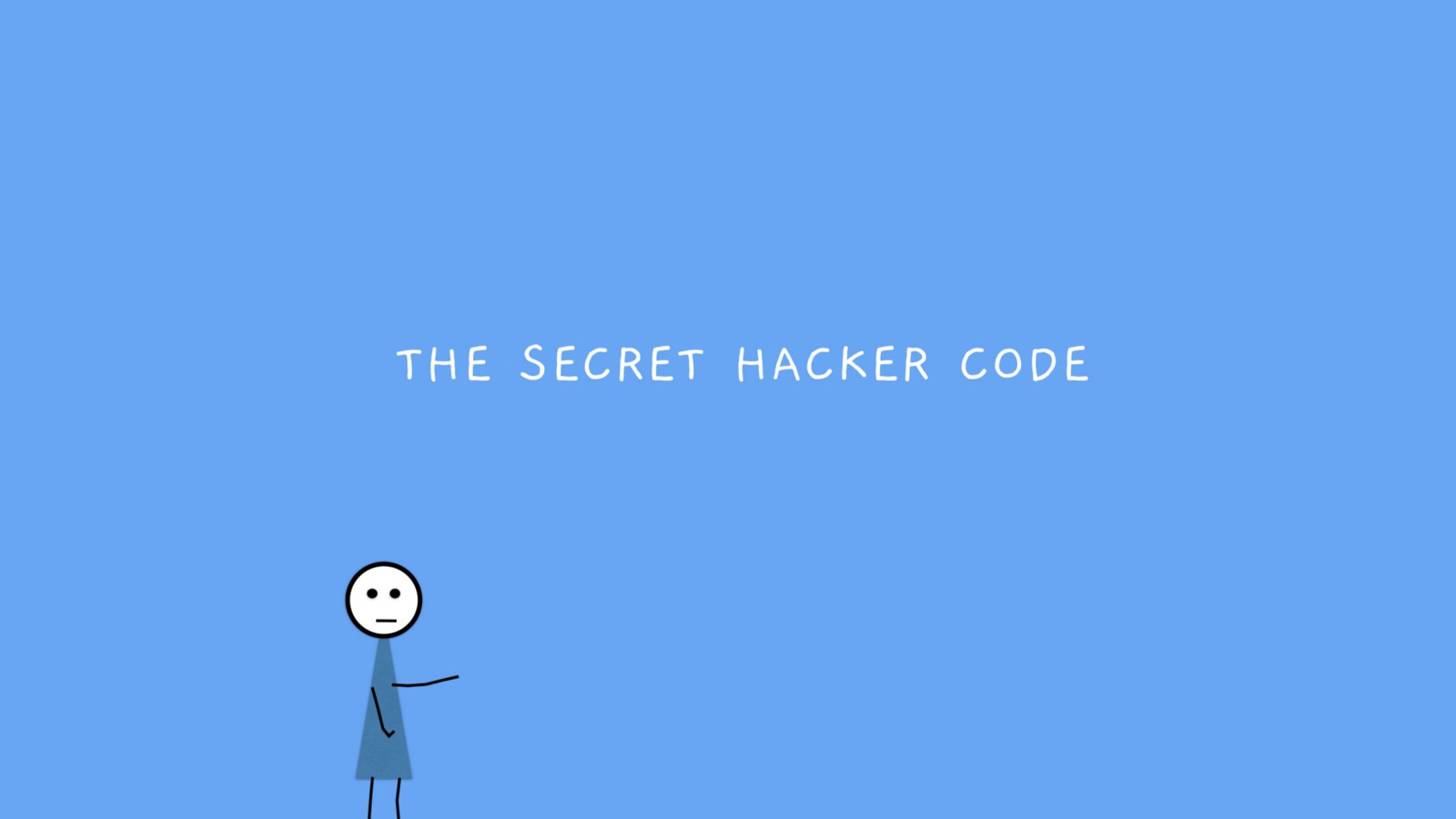 The Secret Hacker Code - By Chris Castiglione