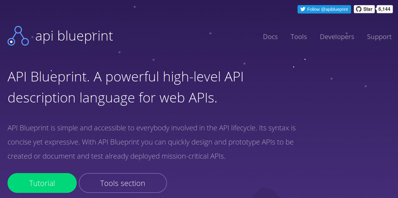 Writing and testing API specifications with API Blueprint, Dredd and