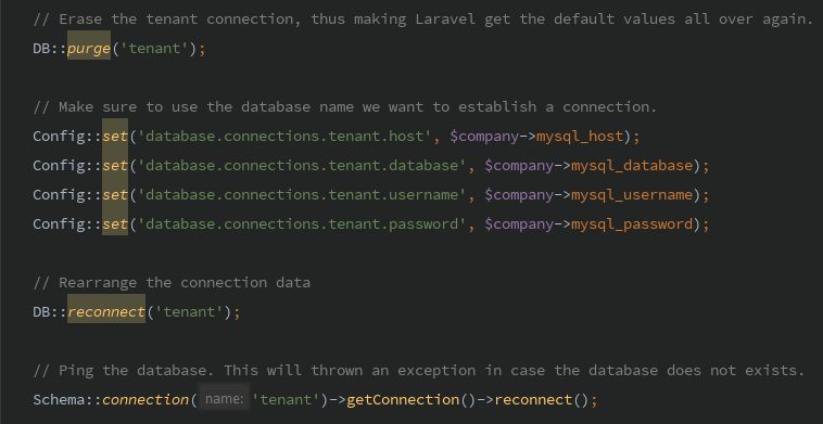 Simple multi tenant with Laravel - By