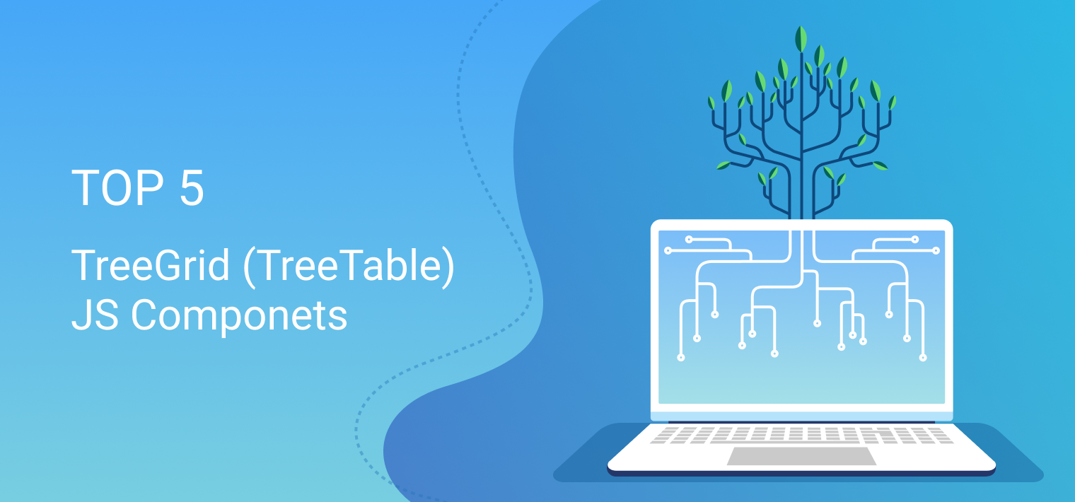 TOP 5 JavaScript TreeGrid (TreeTable) Components - By Webix