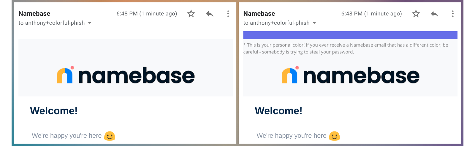 How Color Can Prevent Your Users from Getting Phished - By