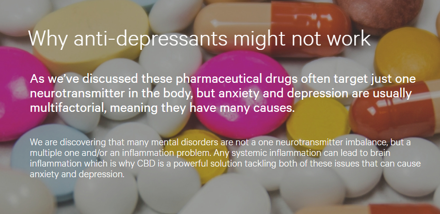 Can CBD Replace Your Anxiety and Depression Medication? - By
