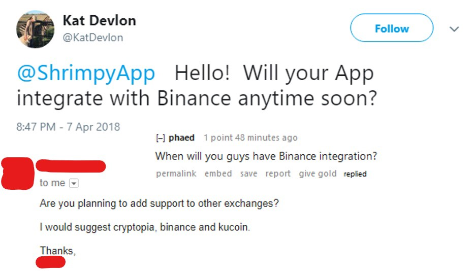/tl-dr-shrimpy-now-supports-binance-47d0ece21531 feature image
