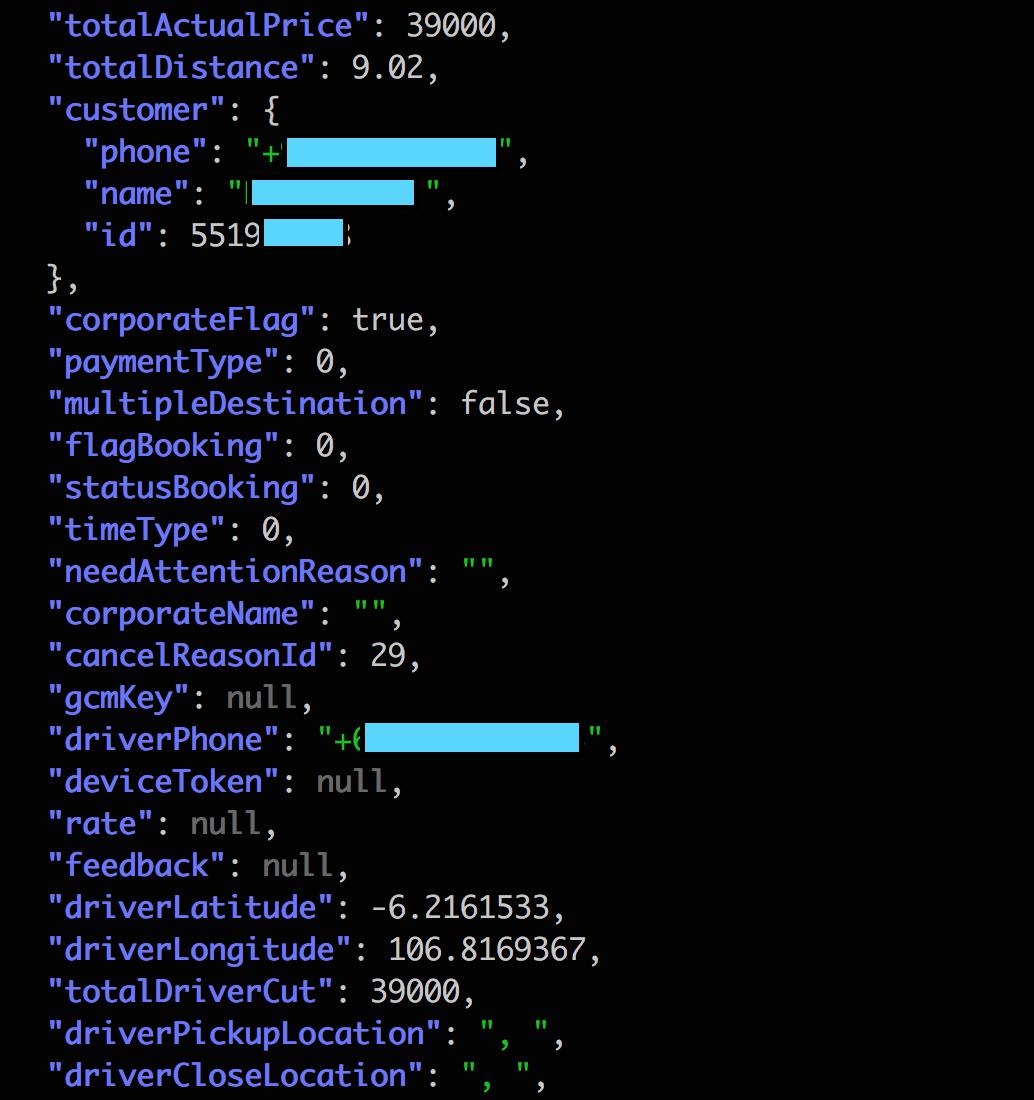 Security vulnerabilities in GO-JEK - By