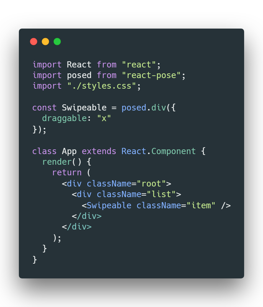 Animations in React at 60fps! An introduction to React-Pose - By