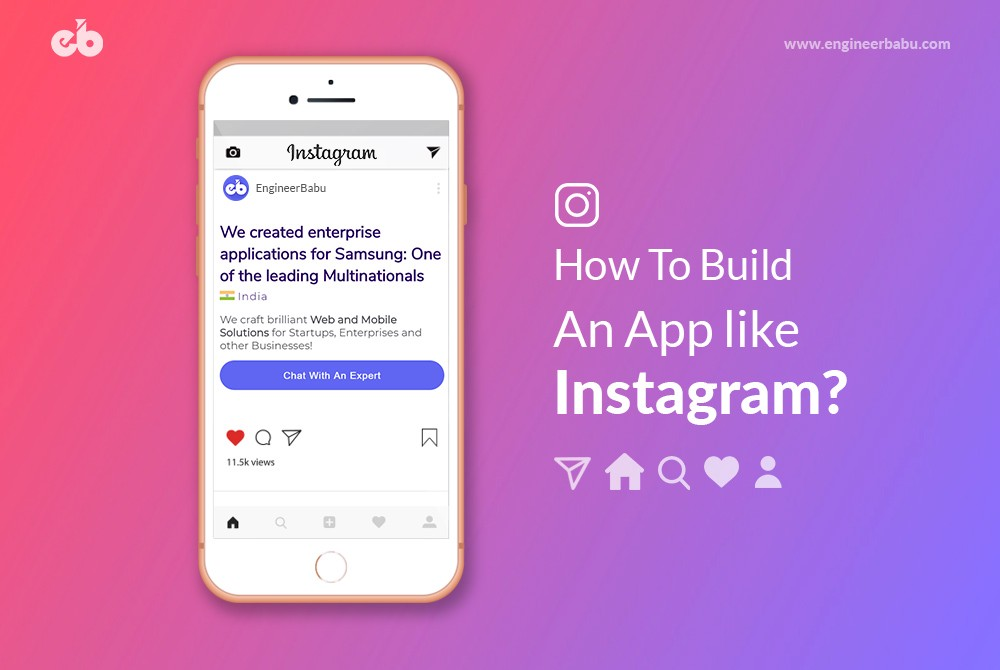 How to Build a Mobile App like Instagram? - By