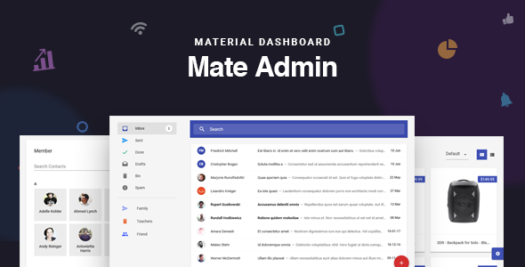 5 Best React js Admin Templates 2018 - By