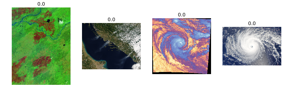 Part1-Using Deep learning to identify natural disasters from