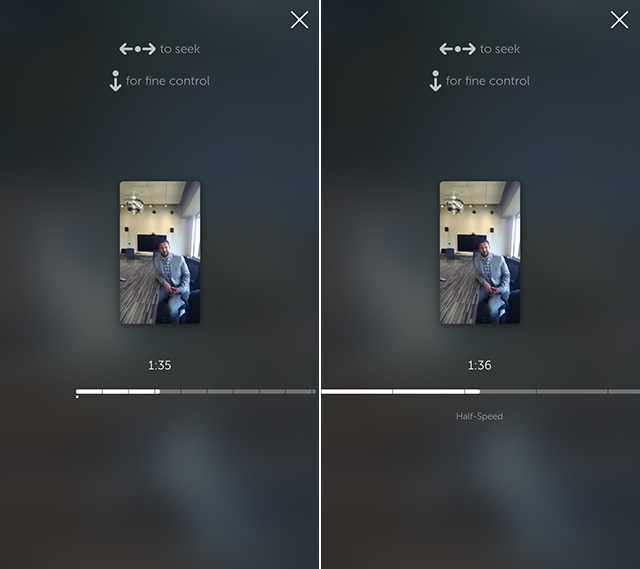 Building Periscope fast rewind control for iOS - By