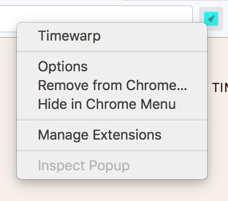 Why I created Timewarp (Chrome Extension) - By