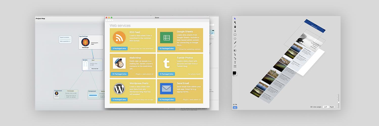 React Studio 1 2: Version control, Plugin Editor & Store, 3D