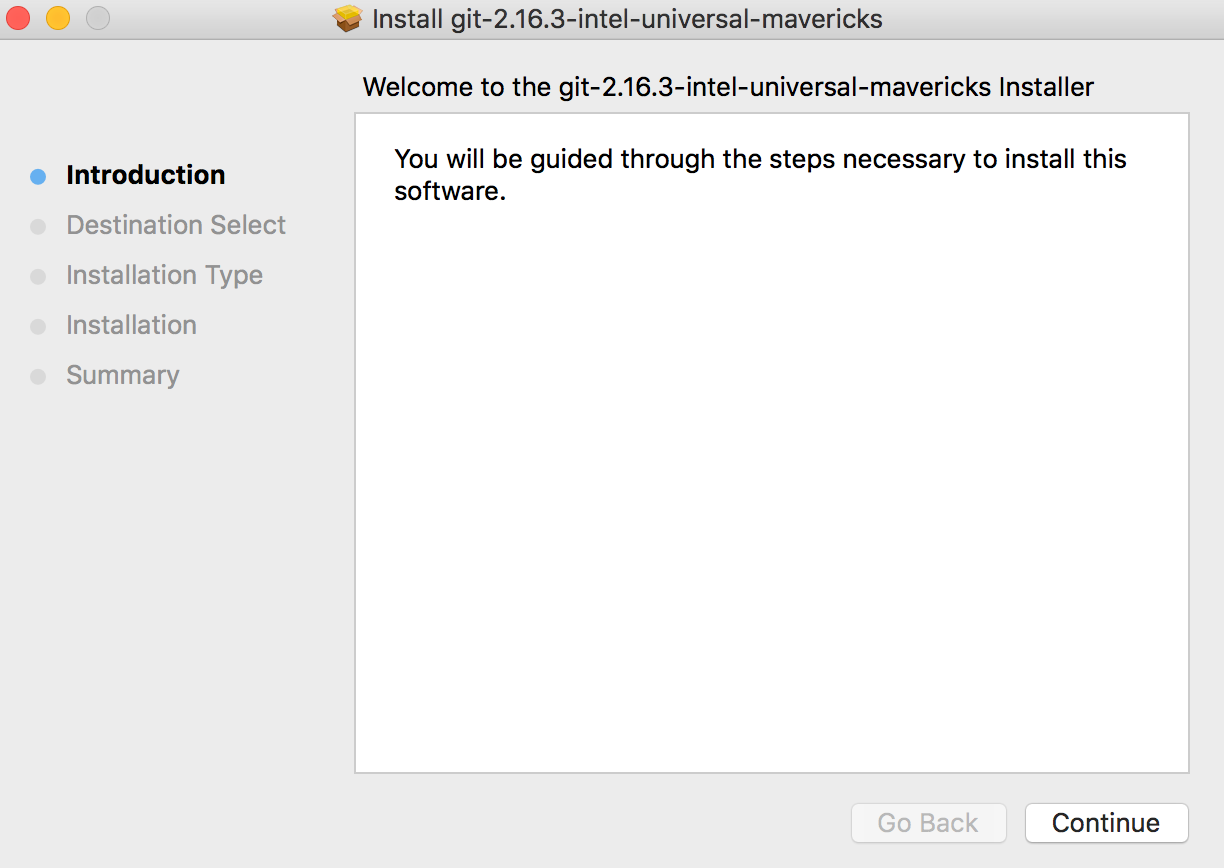 Install Git on Mac - By