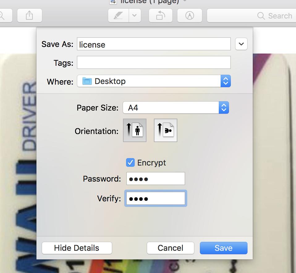 Password Protect Sensitive Dropbox/Google Drive/iCloud