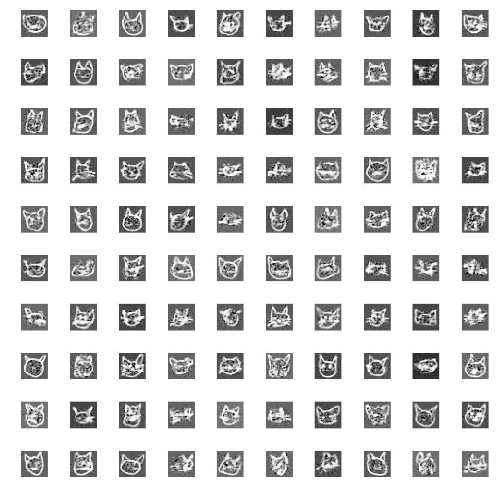 CatGAN: cat face generation using GANs - By