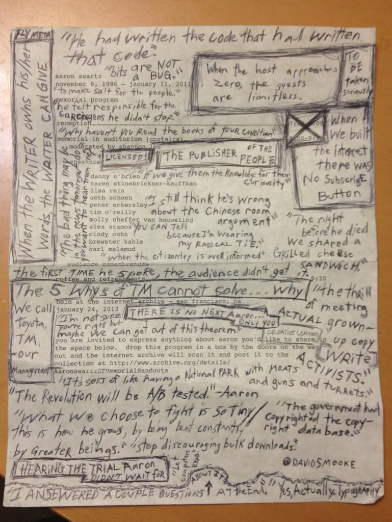 /handwritten-notes-from-aaron-schwartz-memorial-service-at-the-internet-archive-in-san-francisco-17b4e767f74b feature image