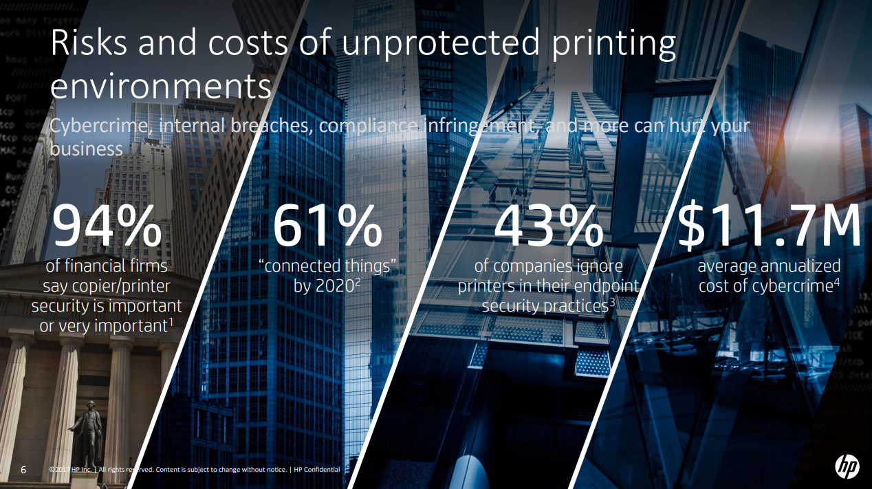 Did you know that printers are a major cyber attack vector? - By
