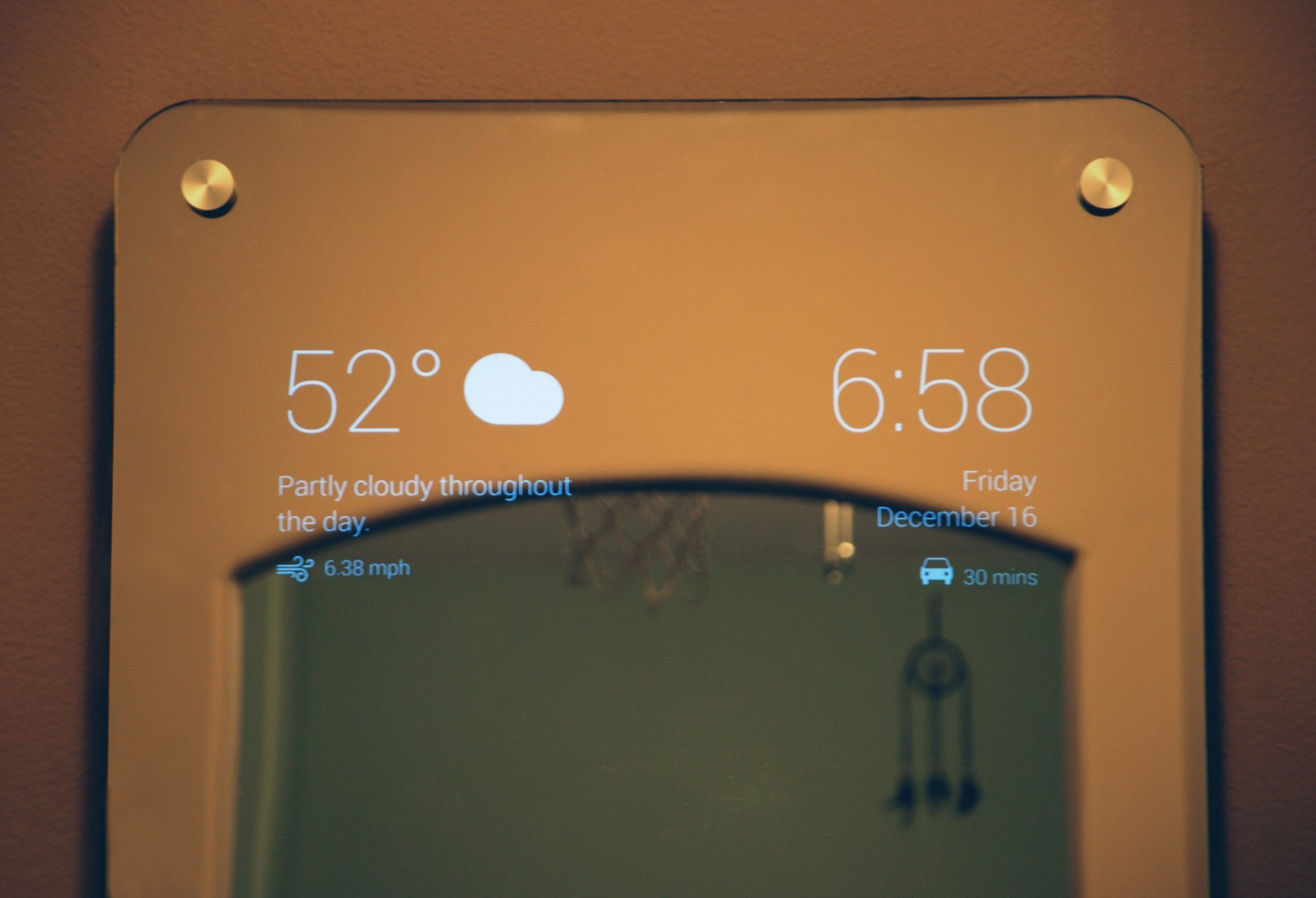 I Made Myself a Smart Mirror - By