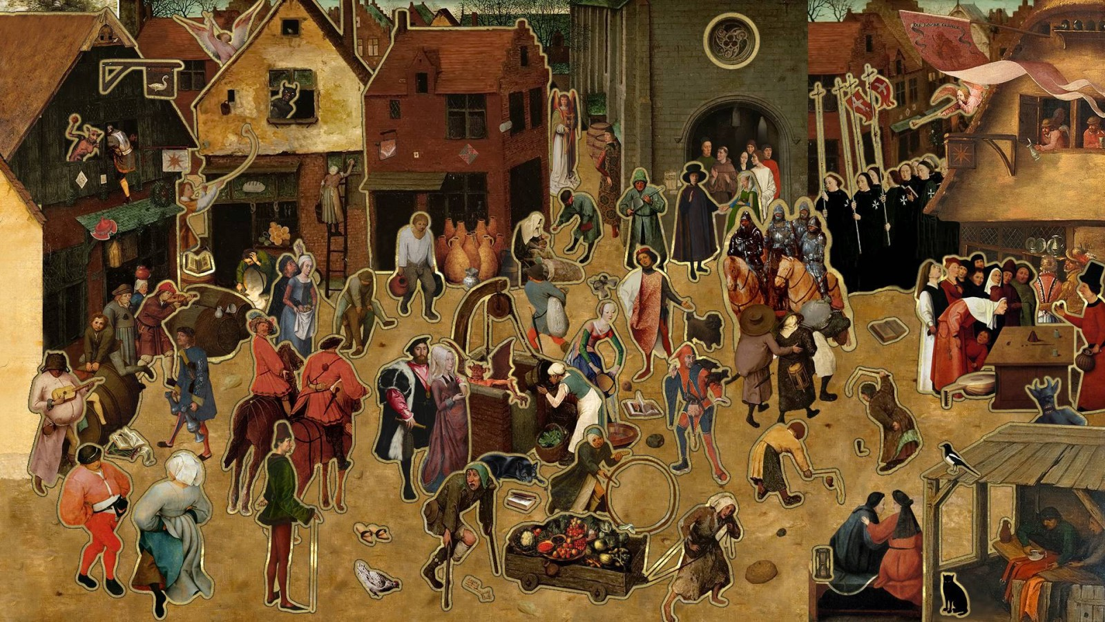 пожелал картинки средневековый город и его жители тип реакции