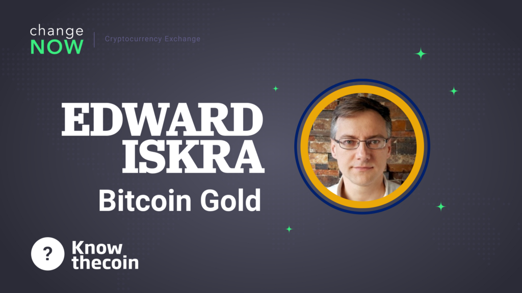 /know-the-coin-interview-with-bitcoin-golds-communications-director-edward-iskra-d6790cccb54c feature image