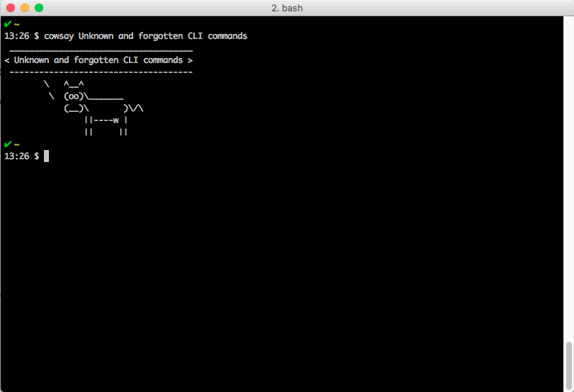 /unknown-and-forgotten-cli-commands-ca73b3cdd1fd feature image