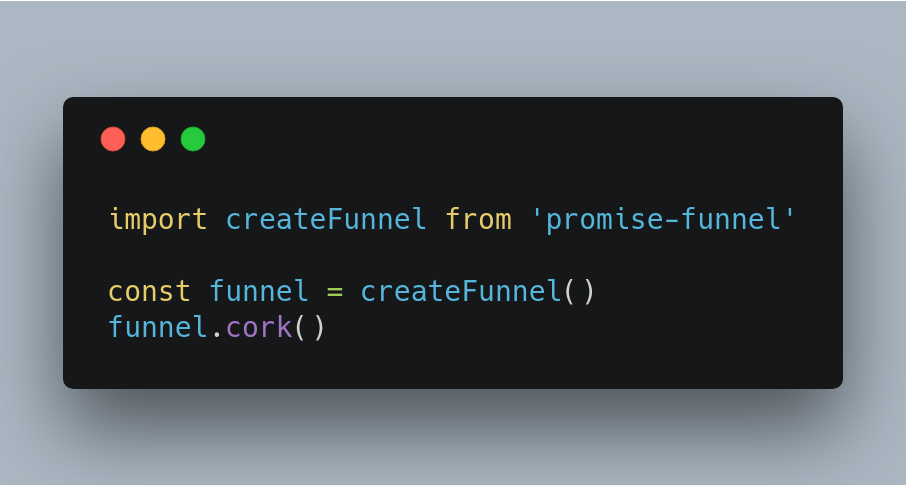 Introducing Promise-Funnel