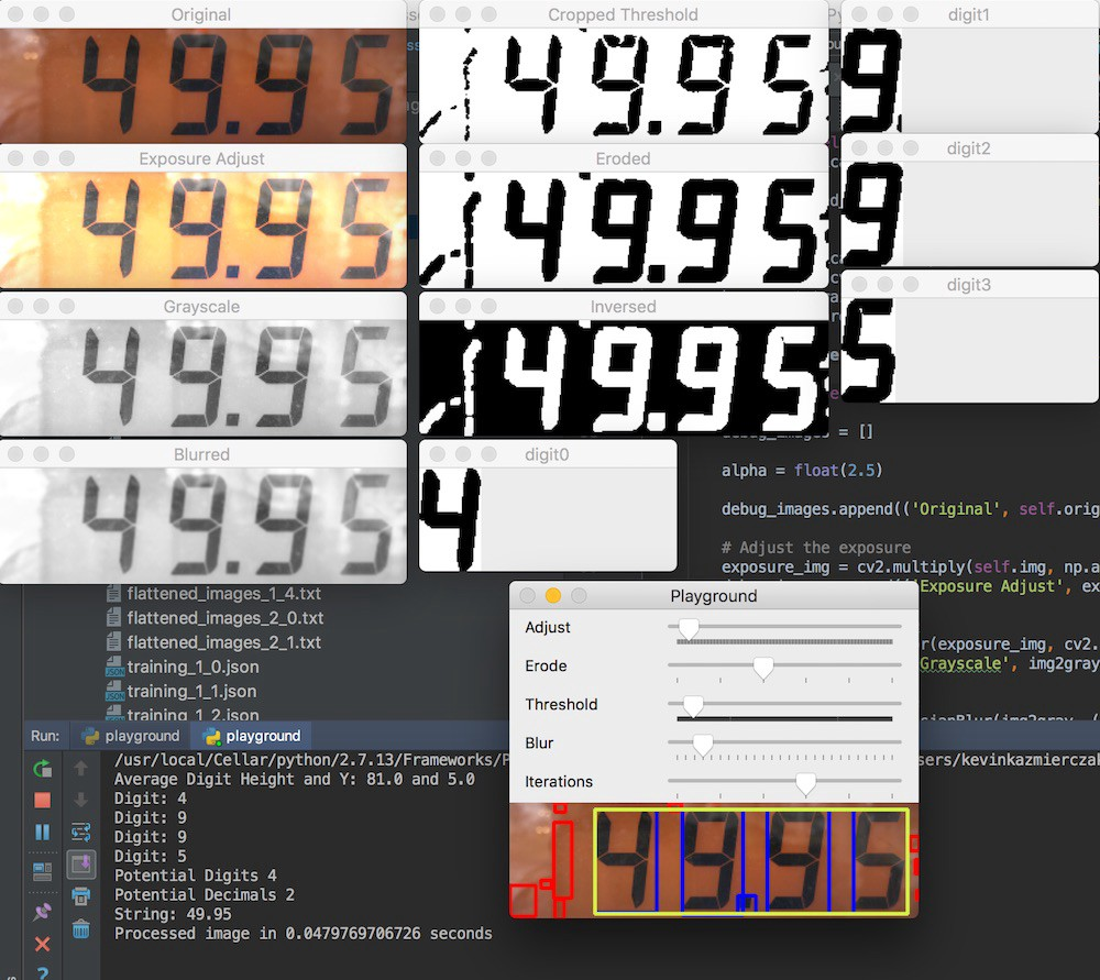 Building a Gas Pump Scanner with OpenCV/Python/iOS - By