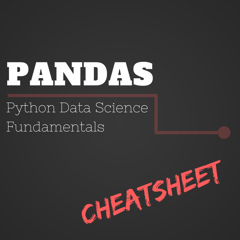 Fundamental Python Data Science Libraries: A Cheatsheet