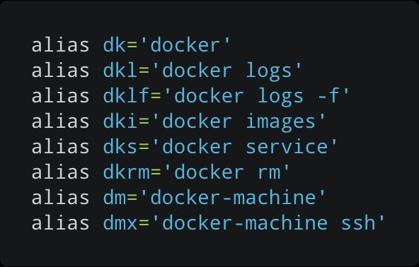 Handy Docker Aliases - By Carlos Justiniano