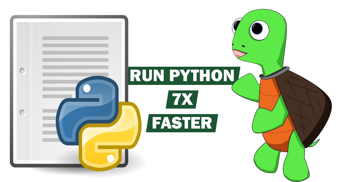 Are your Python programs running slow? Here's how you can make them