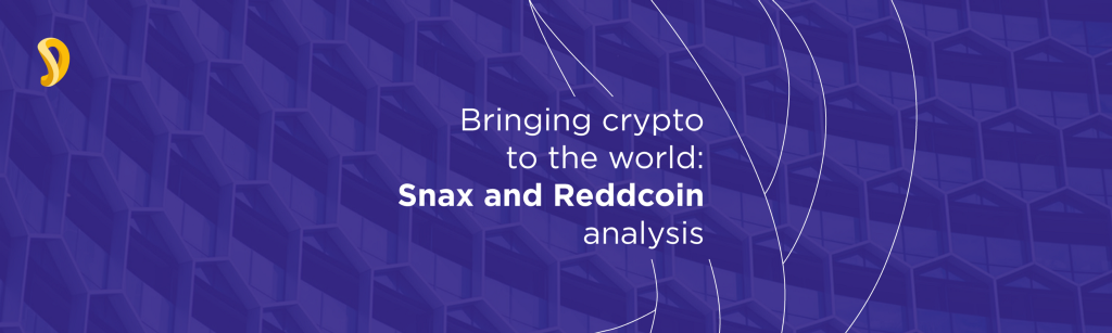 /bringing-crypto-to-the-world-snax-and-reddcoin-analysis-9c00583ccb72 feature image