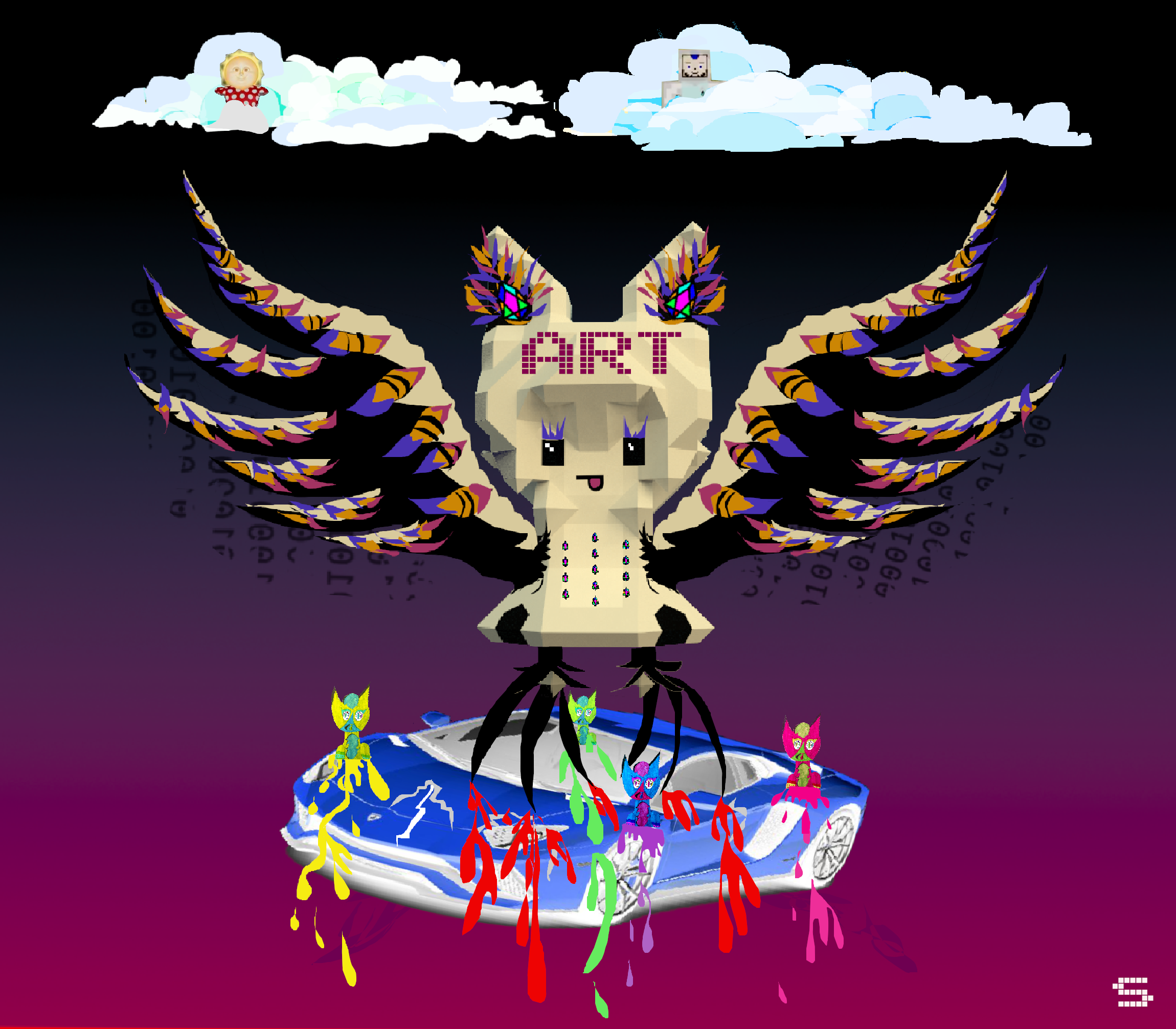 /crypto-2019-when-making-art-i-could-give-a-fu-k-about-lambos-1dd3652b61ca feature image