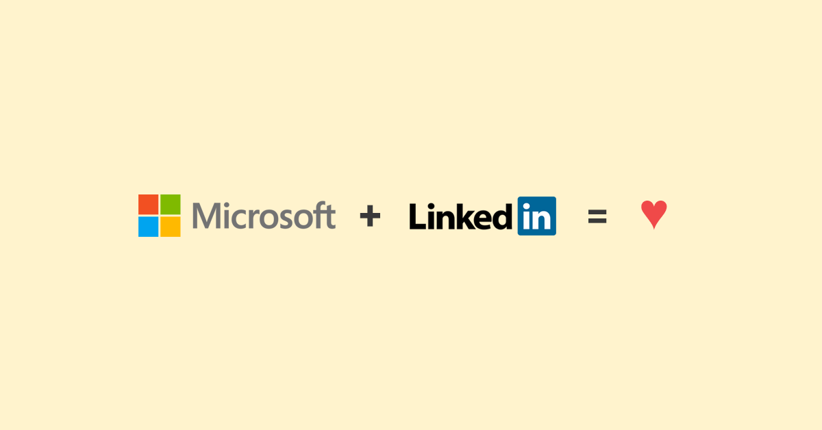 Dear employees of Microsoft and LinkedIn - By