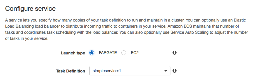 Azure Container Instances vs  AWS Fargate - By