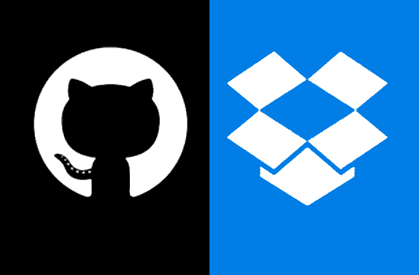 Dropbox as a GitHub Alternative - By