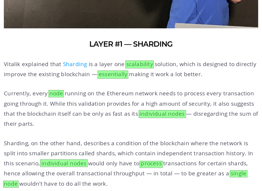 Sharding centralizes Ethereum by selling you Scaling-In