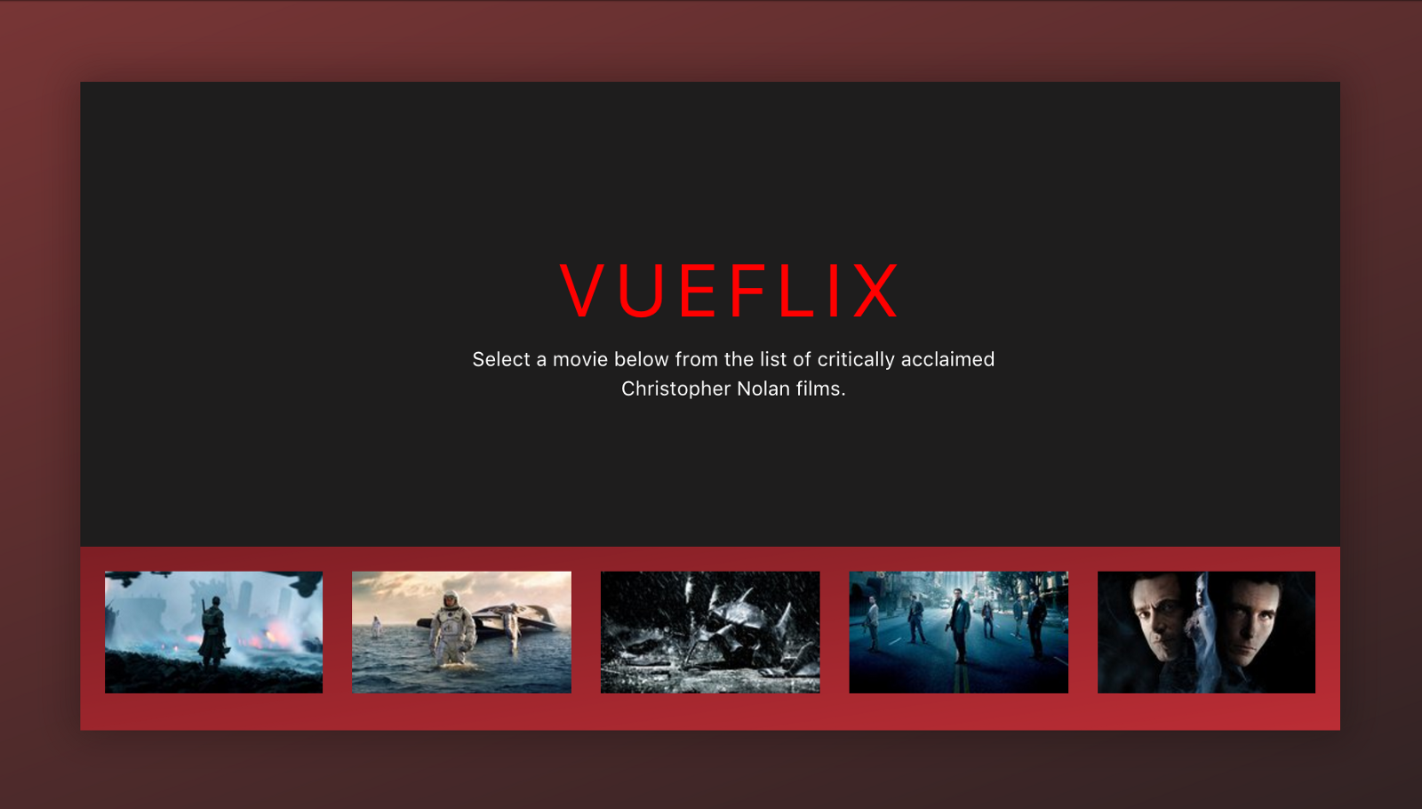 Building a movie app interface with Vue js - By