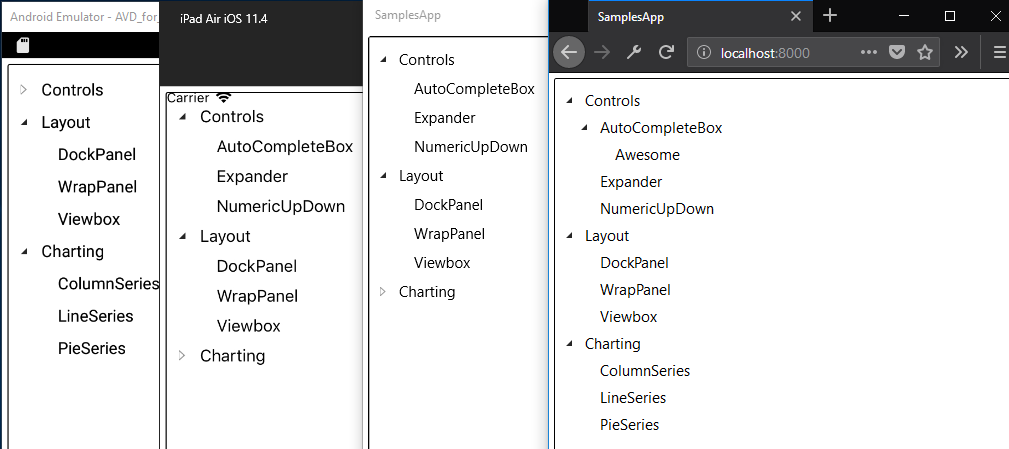 Migrating the Silverlight Toolkit TreeView control to UWP