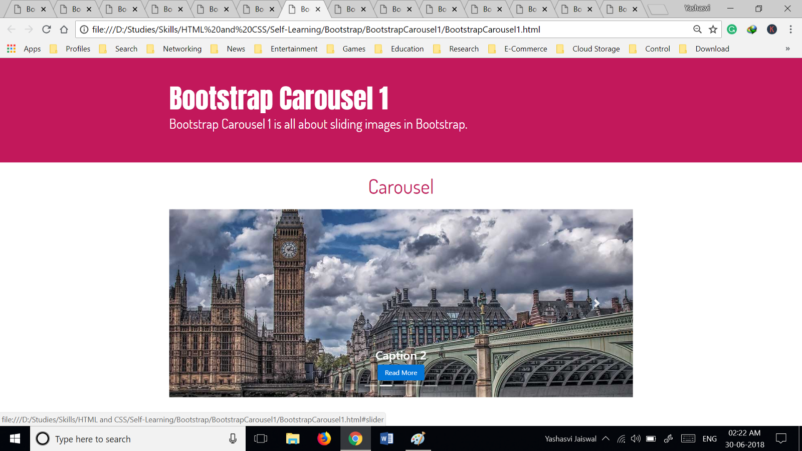 Revisiting Bootstrap in the Summers - By