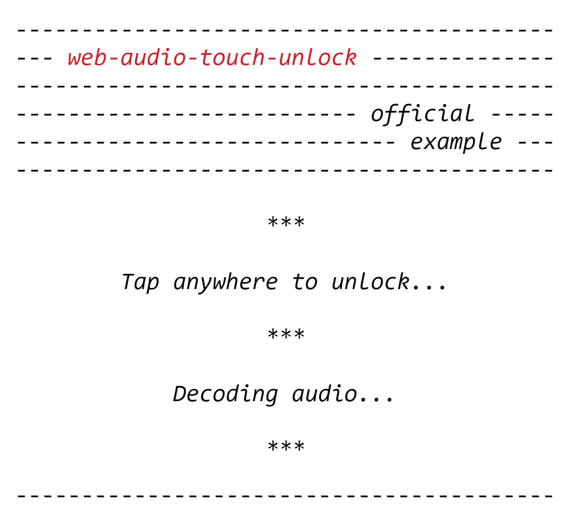Web Audio Api Demo Ios Playing Sounds with the Web Audio